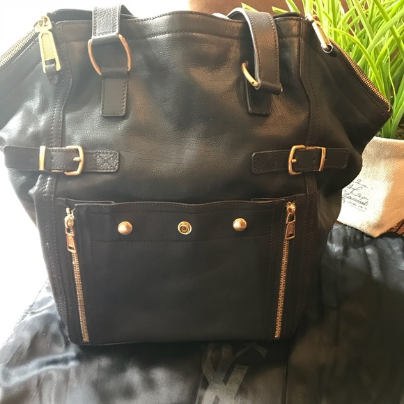 e88f59581f6 Yves Saint Laurent Bags | Authentic Ysl Downtown Tote Medium | Poshmark